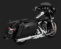 Harley Touring Chrome 30+ Horsepower Exhaust Kit