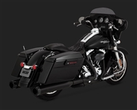 Harley Touring Black 30+ Horsepower Exhaust Kit