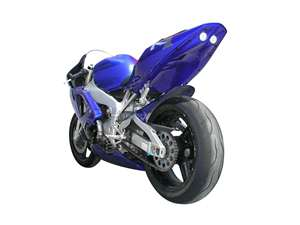 Hotbodies YAMAHA YZF-R1 (00-01) ABS Undertail - UNPAINTED