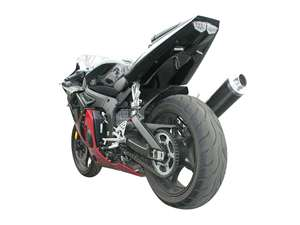 Hotbodies YAMAHA YZF-R6 (03-05) R6/s (06-09) ABS Undertail w/ Built In LED Signal Lights - UNPAINTED