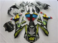 Yamaha YZF-R1 '15-'17 Black Movistar Fairings