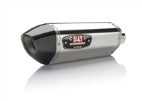 Kawasaki ZX14R 2012-Present Yoshimura Dual Polished w/ Carbon Tip R-77 Slip On Exhaust