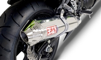Kawasaki ZX14R 2006-2011 Yoshimura Polished w/ Stainless Tip TRC Full Exhaust System