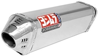 Kawasaki Versys 650 2008-Present Yoshimura Polished w/ Stainless Tip TRC Slip On Exhaust