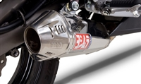 Kawasaki Ninja 650R / ER 2009-2011 Yoshimura Polished w/ Stainless Tip TRC Slip On Exhaust