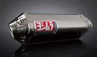 Suzuki B King 2008-Present Yoshimura Dual Polished w/ Stainless Tip TRC Slip On Exhaust