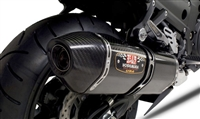 Kawasaki ZX14R 2012-Present Yoshimura Carbon Fiber w/ Carbon Tip R-77 Complete Full Exhaust System
