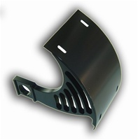 KAWASAKI ZX10 LICENSE PLATE BRACKET FOR SWINGARM - BILLET ALUMINUM POWDER COATED BLACK (product code # YS2549022)