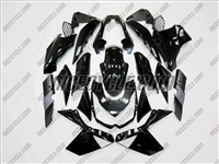 Kawasaki Z1000 Gloss Black Fairings