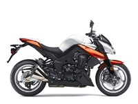 Kawasaki Z1000 Black/Orange Fairings