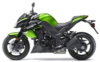 Kawasaki Z1000 Metallic Green Fairings