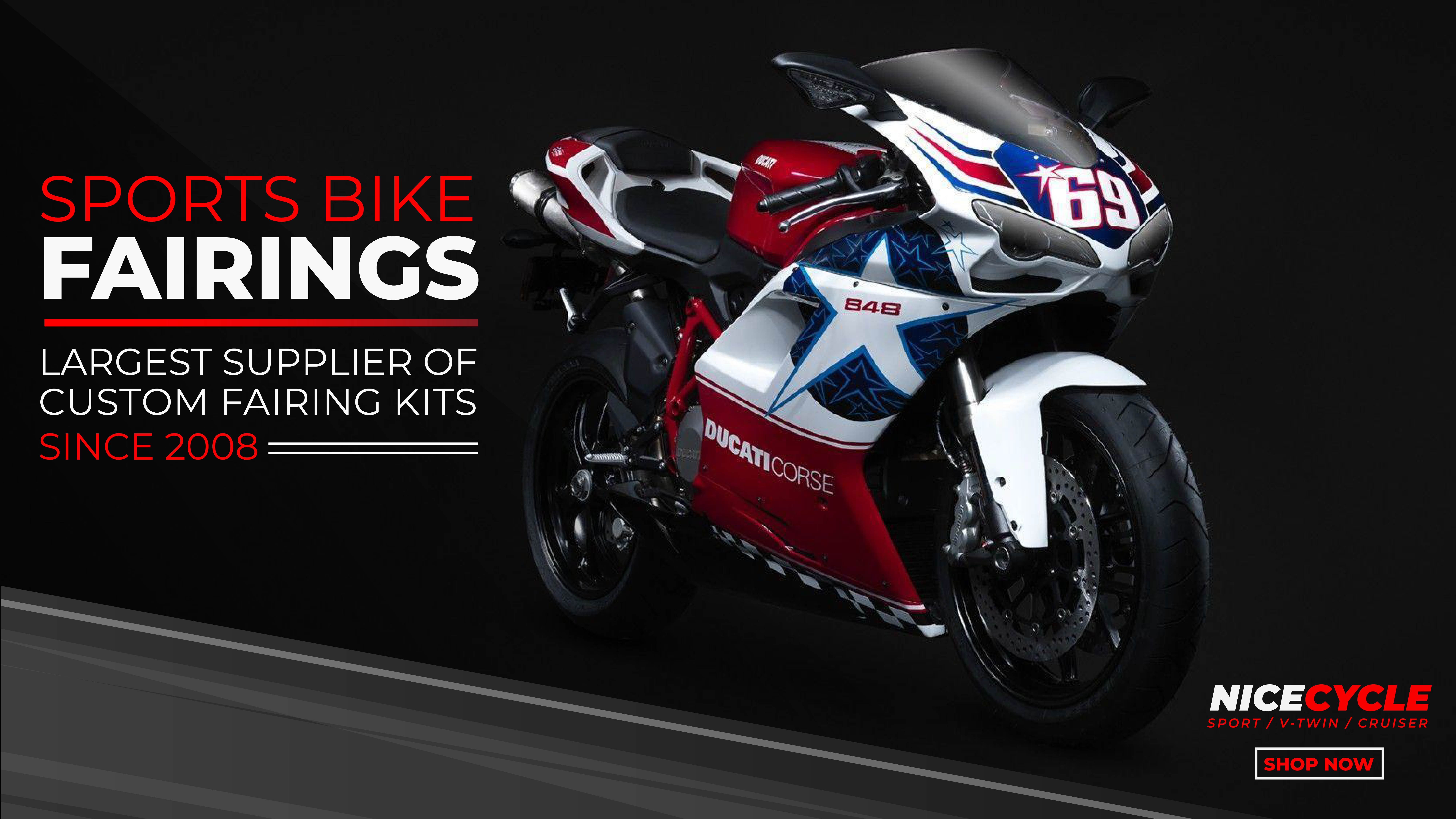Motorcycle Fairings And Fairing Kits And Motorcycle Parts And Accessories