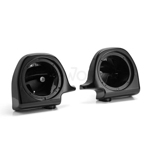 harley davidson lower fairing speaker pods 6 5 denim black hogworkz. Black Bedroom Furniture Sets. Home Design Ideas