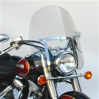 Kawasaki VN900B Vulcan 900 Classic /LT/SE 2006-Present Windscreen Heavy Duty Dakota 4.5 By National Cycle
