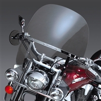 Yamaha XVS650 V-Star Drag Star Custom 1997-Present Windscreen Clear 2-Up Switch Blade By National Cycle