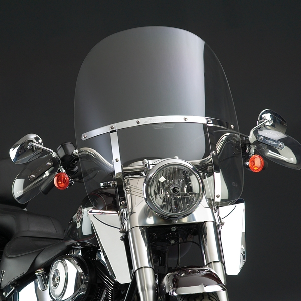 Harley Davidson Windshields >> Harley Davidson Flstc Heritage Softail Classic With Light Bar Installed 1987 Present Windscreen Clear 2 Up Switch Blade By National Cycle