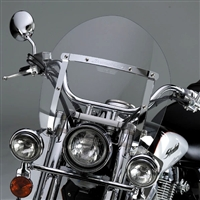 Kawasaki VN900 Vulcan 900 Custom 2007-Present Windscreen Shorty Switch Blade By National Cycle