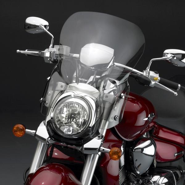 Suzuki M109R2 Boulevard 2008-2010 Windscreen Light Tint Touring V-Stream by  National Cycle