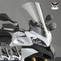 Ducati Multistrada 1200 / S 2010-2012 Windscreen Tall Touring V-Stream by National Cycle