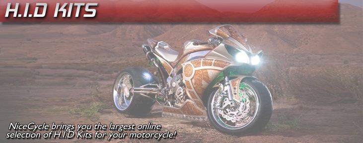 Motorcycle HID Kits - Lighting - HID Headlights