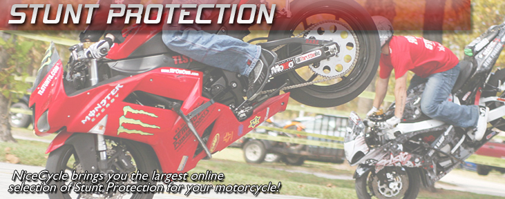 Motorcycle Stunt Parts - Engine Protection Cages | NiceCycle